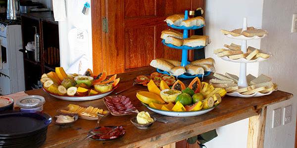 Brasilien 2021 Frühstück